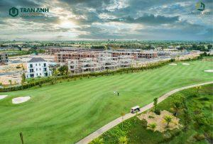 Biệt thự West Lakes Golf & Villas có vị trí liên kết quan trọng