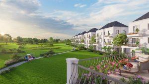 Bất động sản biệt thự West Lakes Golf & Villas nổi bật tại Long An