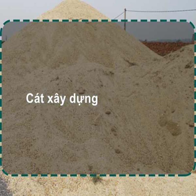 Giá cát xây dựng chuyên phân phối vật liệu