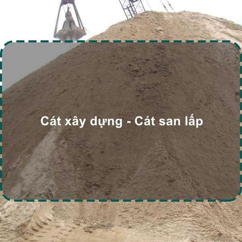 Giá cát san lấp chuyên phân phối vật liệu